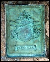 Bates plaque