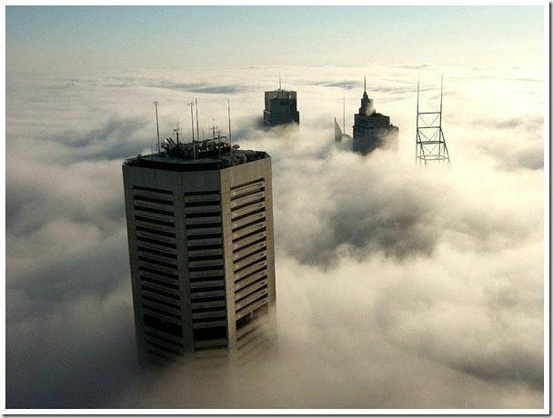 澳洲雪梨的大霧