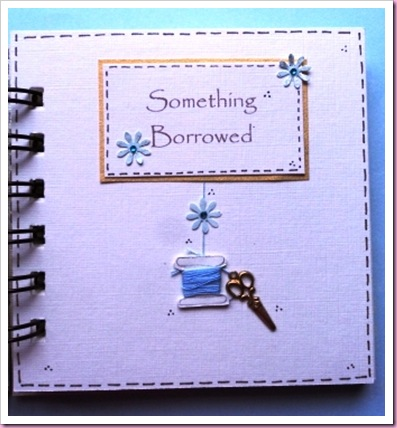 Something Borrowed Bind It All Mini Wedding Book