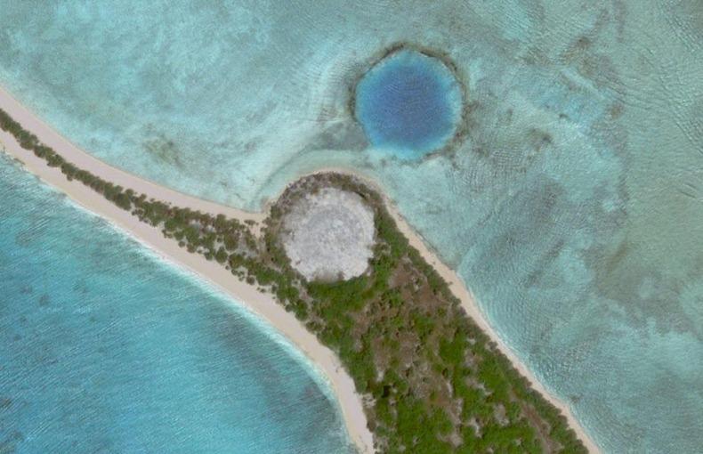 Ngeo bikini atoll radiation