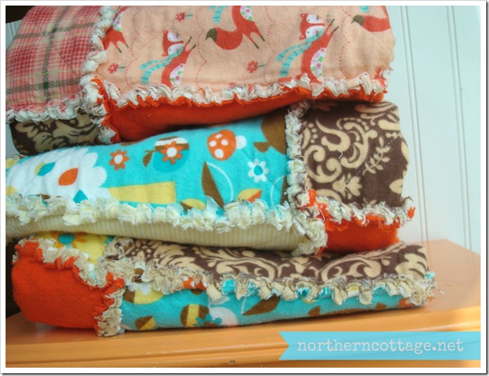 {Northern Cottage} super cozy woodland quilts