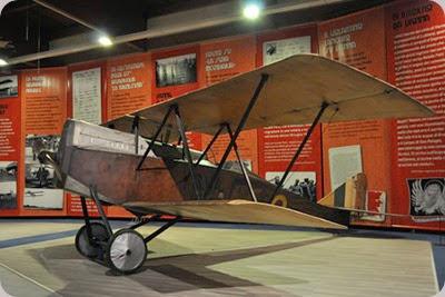 museo dell'aeronatuca trentino ansaldo