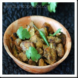 Yummy pepper chicken dry fry is ready