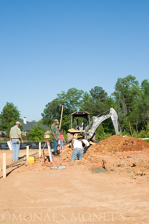 digging footings blog