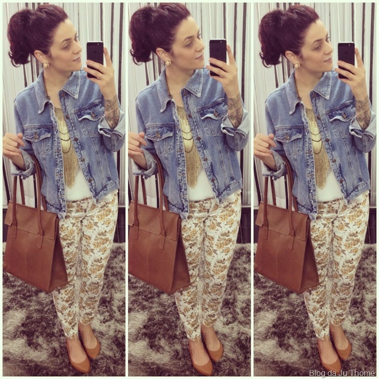 look jaqueta jeans e calça floral (2)