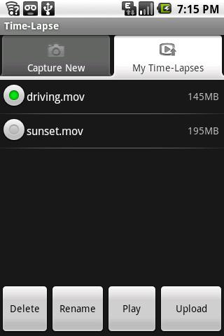 Time-Lapse - screenshot