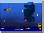 jogo de nadar para pegar tesouros