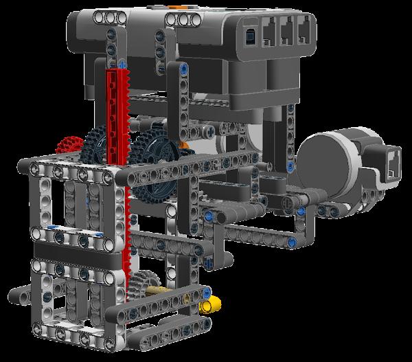 LEGO Mindstorms NXT X-Y Plotter: Y-axis & Pen Control