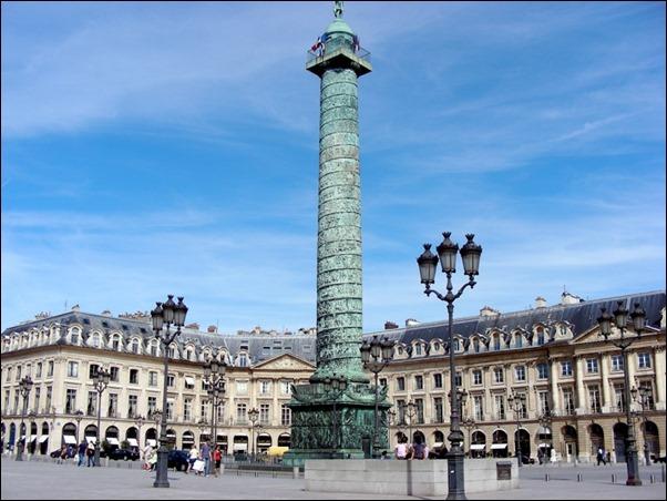 ساحة فاندوم باريس