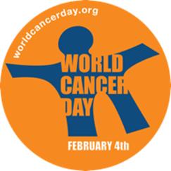 world cancer logo