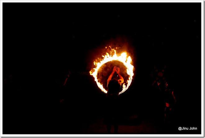 Martial Arts Fire