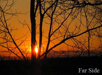 Sunset April 25