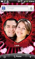 Screenshot of Love Photo Heart Locket