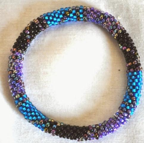 Blue Rollover Bracelets