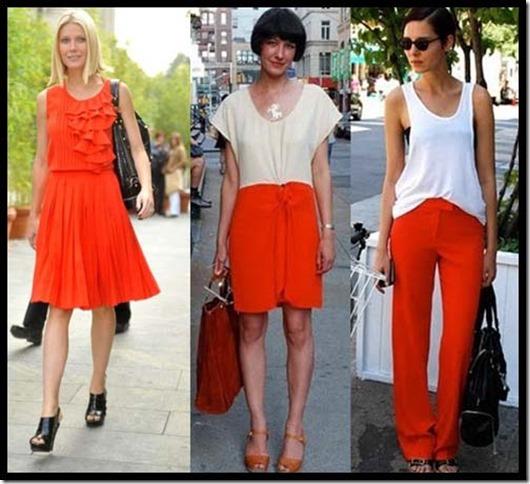 looks laranjas