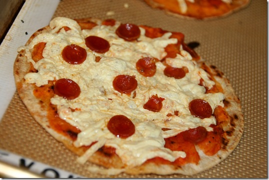 Easy White Corn Tortilla Pizza