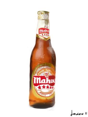 BOTELLÍN DE MAHOU