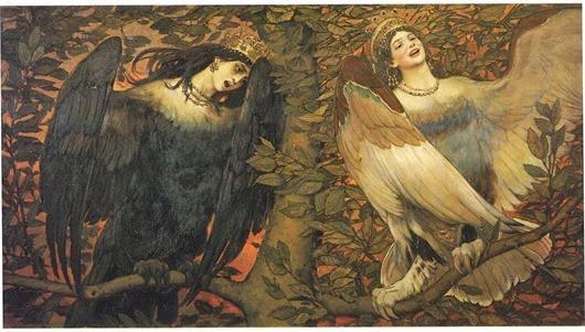 6-Виктор-Васнецов_Сирин-и-Алконост.-Птицы-радости-и-печали_1896