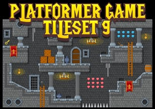 royalty free game tile set