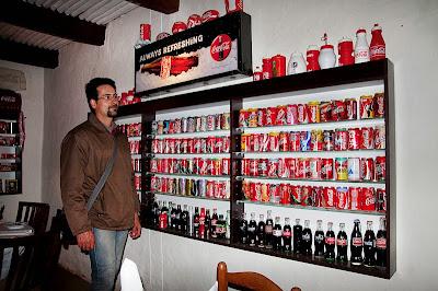 Sabine's Drostdy Restaurant<br /><br /> Una colección increible de productos de CocaCola y unos dueños de lo más amables.