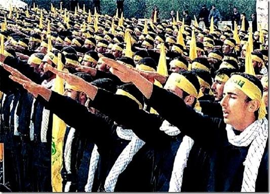 Nazi Islam Salute