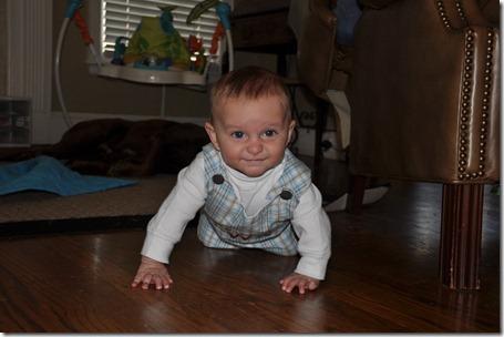 sibling pics and leighton crawling 021713 (38)