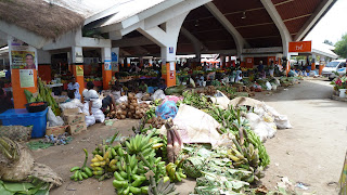 Markt von Port Vila, Efate.