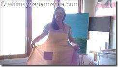apron modeling