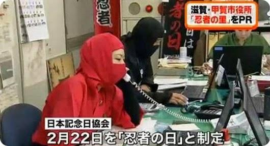 ninja day japan