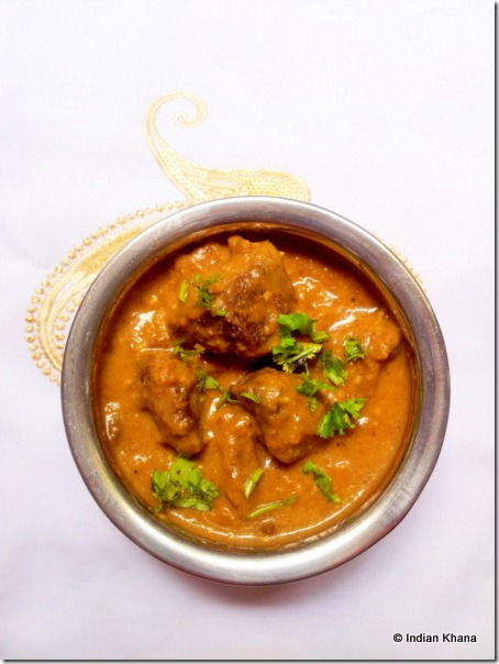Easy Mughlai shahi mutton ghost curry masala recipe