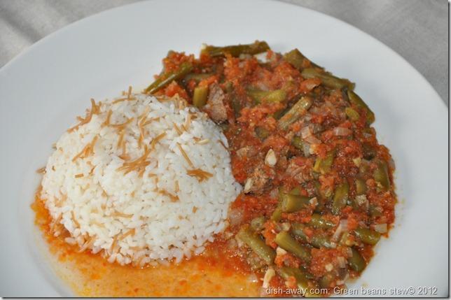 Green Beans Stew Recipe by www.dish-away.com