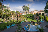 Portmeirion under sunny skies