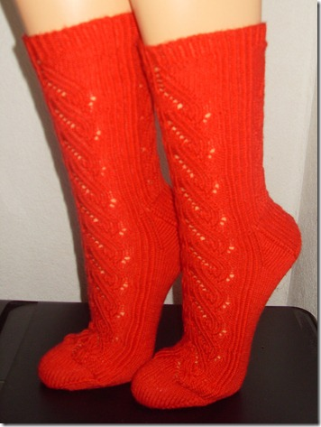 2012_07 Ajour- Frankreich- Socken aus Verena I  (4)