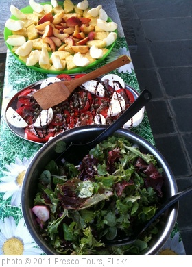 'Gourmet picnic lunch, Fresco Tours style. 3 pixs #may17cds' photo (c) 2011, Fresco Tours - license: http://creativecommons.org/licenses/by/2.0/