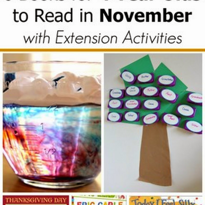6 November Books for 4 Year Olds