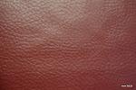 Ognioodporna tkanina obiciowa. Skóropodobna. 100,000 cykli. Czerwona, brązowa.