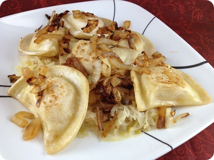 Store bought pierogie ideas