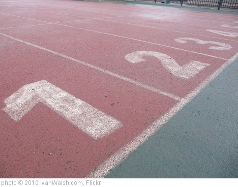 'Lane 1 on Race Track, running Track' photo (c) 2010, IvanWalsh.com - license: http://creativecommons.org/licenses/by/2.0/