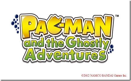 Logo del nuovo gioco dedicato a Pac Man