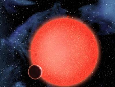 concepção artística do GJ 1214b