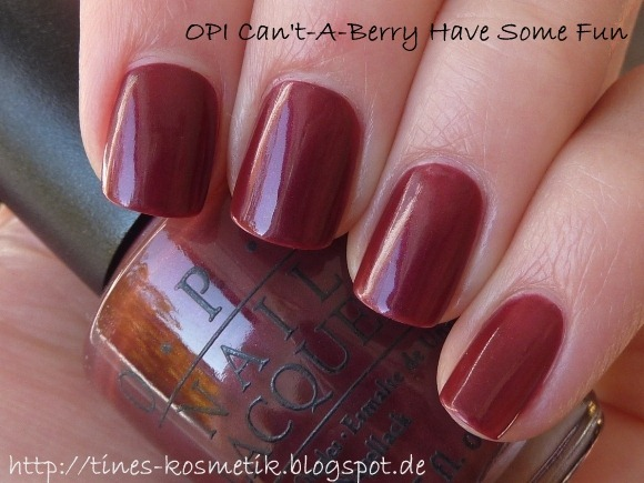 OPI Cant-A-Berry Have Some Fun 3