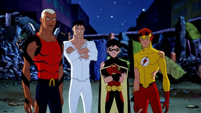 Vízilény, Superboy, Robin, KölyökFlash