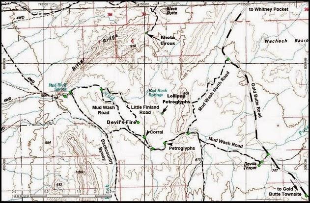 MAP-04-North Mud Wash Road