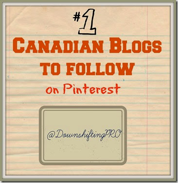 Canadian Blogs to Follow