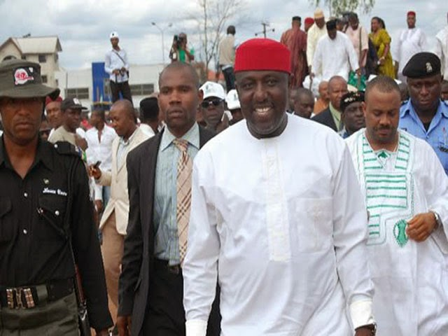Few hours to election okorocha's aide arrested for the possession of weapons