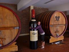 Mmm giant wine!