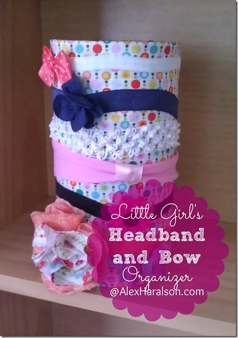 Litte Girls Headband and Bow Organizer8