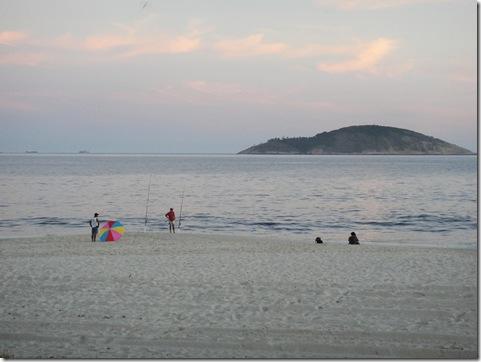 beach at dusk 1