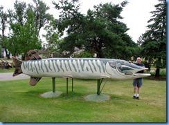 2669 Minnesota Hwy 2 East - Deer River Northern Pike Statue