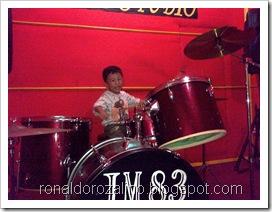 Violino Ridho Putra Kembali Berlatih Drum di JM 83 STUDIO (10)